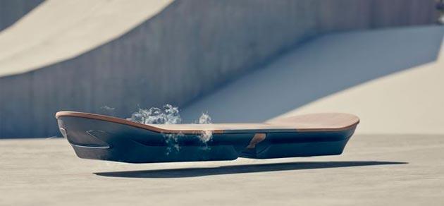 Lexus mostra in video il suo Hoverboard, uno Skate fluttuante