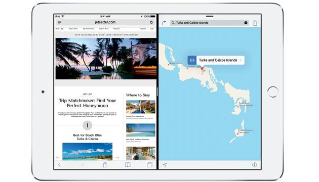 Apple iOS 9 porta su iPad lo slipt screen multitasking