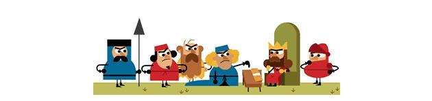 Google Doodle: Google festeggia gli 800 anni della Magna Carta Libertatum