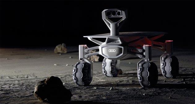 Audi sulla Luna con Google Lunar XPrize