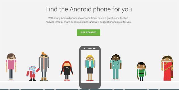 Android: A consigliarci quale SmartPhone comprare ci pensa Google