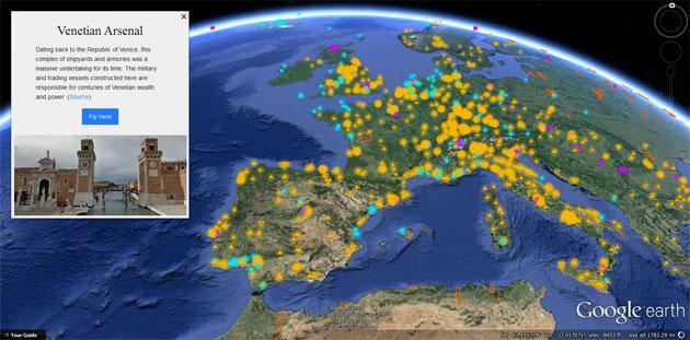 Google Earth celebra 10 anni con Voyager