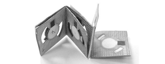 Origami, la batteria che funziona ad acqua sporca