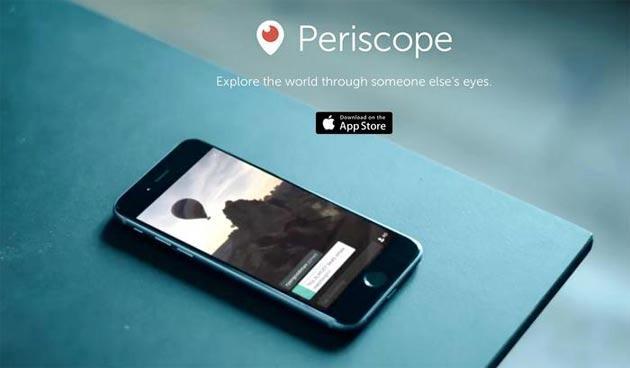 Periscope Replay, trasmissioni visibili per 24 ore dopo la diretta