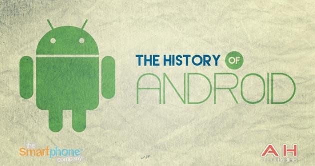 La storia di Android raccontata in Infografica