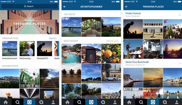 Instagram aggiorna Esplora per scoprire nuovi Eventi, anche Video
