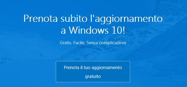 Windows 10 arriva tra 1 mese, come prenotare il nuovo Windows