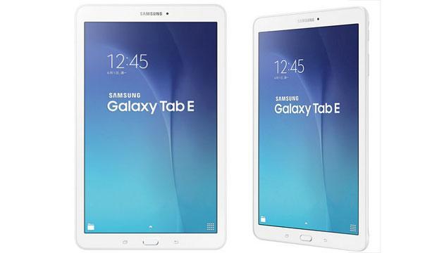 Samsung Galaxy Tab E diventa ufficiale