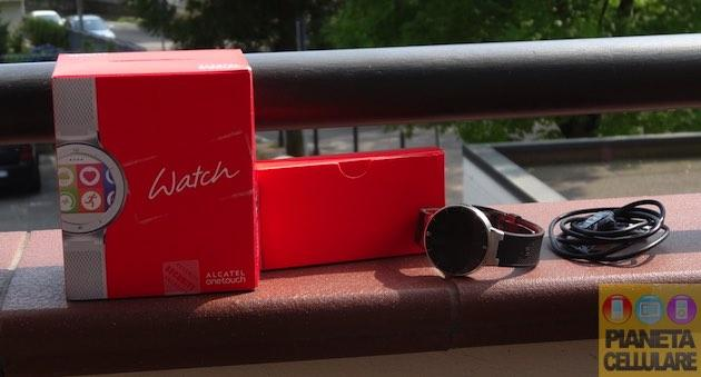 Alcatel Onetouch Watch: Unboxing, primo avvio e collegamento