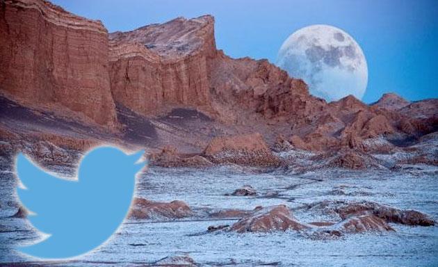 Twitter festeggia lo sbarco sulla Luna 46 anni dopo