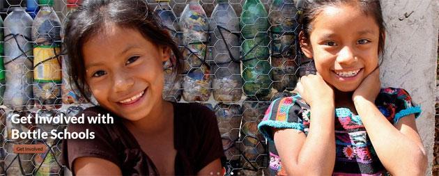 Ecobriks: realizzate 61 scuole con mattoni di plastica riciclata