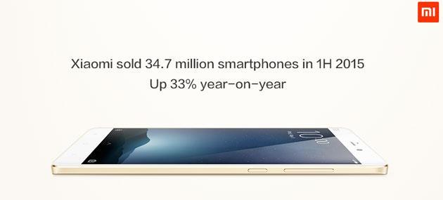 Xiaomi, 35 milioni di telefoni venduti a inizio 2015