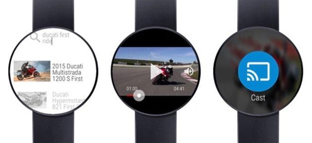 Android Wear: Condivisione dati tra orologi, video Youtube e 17 nuovi volti