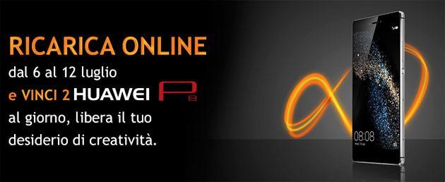 Wind: con la Ricarica online in palio Huawei P8