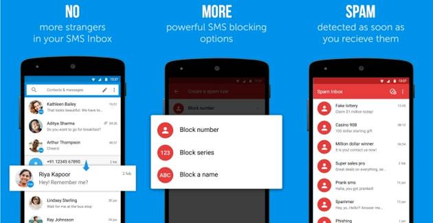 Truemessenger, app Android che blocca SMS Spam