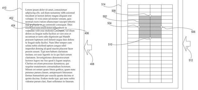 Apple brevetta metodo per selezionare testo senza toccare il display