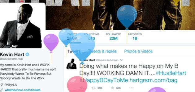 Twitter festeggia il compleanno degli utenti