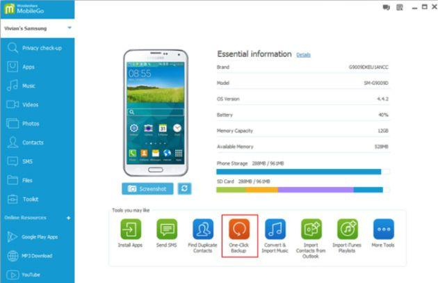 Wondershare MobileGo: Software per gestire, duplicare e ottimizzare il tuo smartphone Android da Pc