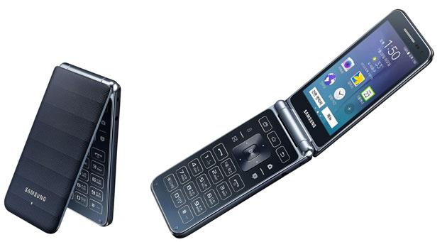 Samsung Galaxy Folder 2015, nuovo flip phone Android da 250 dollari