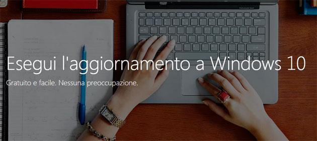GUIDA: Come aggiornare a Windows 10