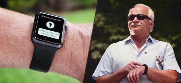 Novartis lancia App per non vedenti per Apple Watch e Android Wear