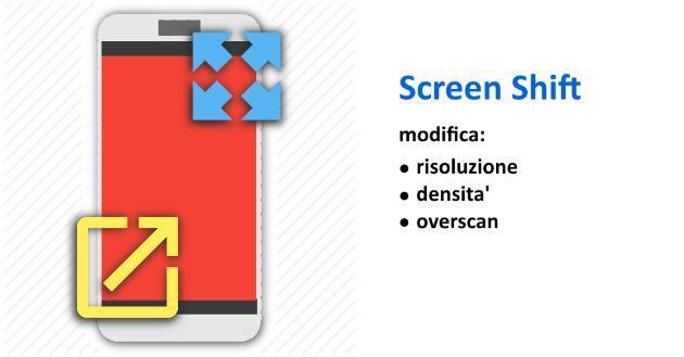 Smartphone Android: come modificare la Risoluzione dello Schermo con ScreenShift