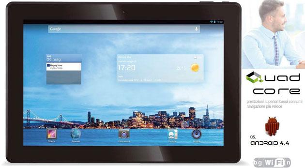 Mega Tablet Trevi, tablet Android da 13 pollici HD Quad-Core