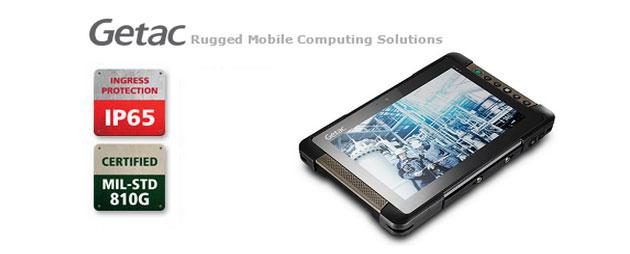 Da Getac il tablet full rugged T800-Ex per ambienti difficili