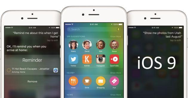 Apple iOS 9: Guida alle 30 migliori Caratteristiche di iOS 9