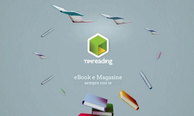 Tim Reading: eBook Store di Tim per Libri, Quotidiani e Riviste