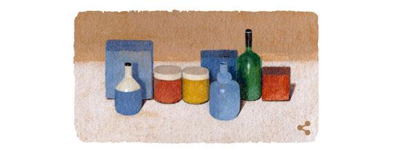 Google celebra Giorgio Morandi con un doodle