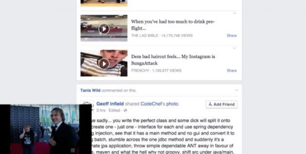 Facebook testa i Video Fluttuanti, il nostro test in Anteprima