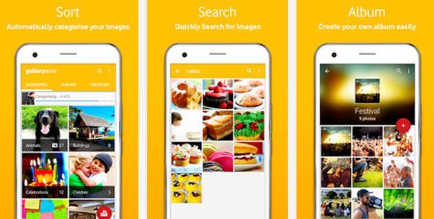 Vodafone galleryxone, app per gestire e trovare foto sullo smartphone