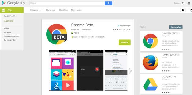 Google Play via web ha un nuovo Design