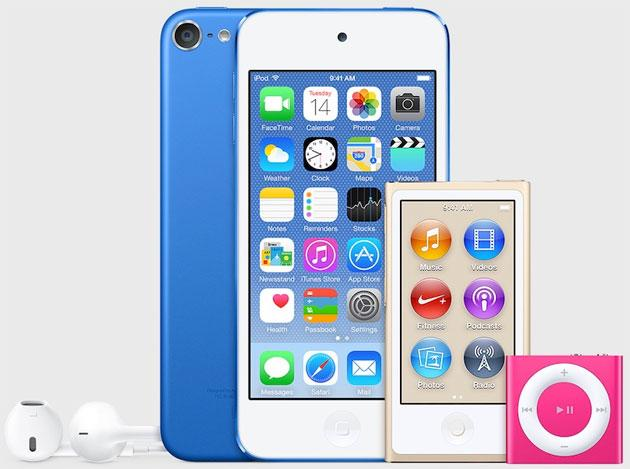 Apple, nuovi iPod Touch 2015 colorati e potenti