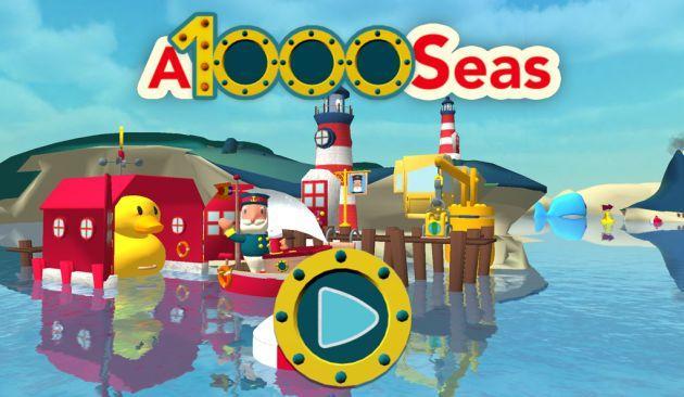 A1000Seas: App per Bambini per diventare Capitani e liberare la fantasia
