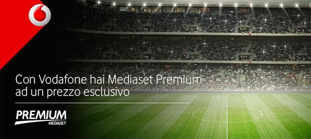 Vodafone e Mediaset Premium, accordo per offerta congiunta da 29 Euro al mese