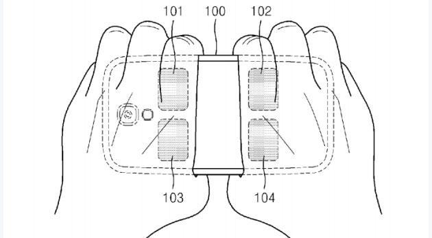 Samsung brevetta sistema per misurare il Grasso Corporeo con lo Smartphone