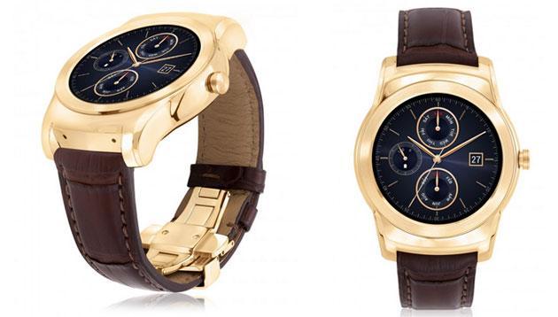 LG Urbane Watch Luxe, smartwatch ricoperto di oro 23 carati
