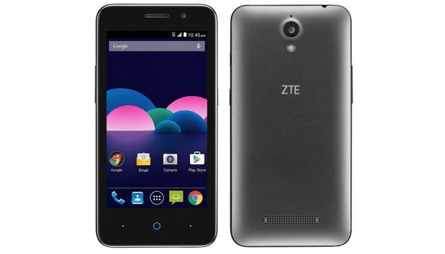 ZTE Obsidian, smartphone Android economico 4,5 pollici, LTE, Quad-Core, 5mpx