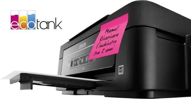 EcoTank, la Stampante Epson che fa risparmiare 500 euro all'anno