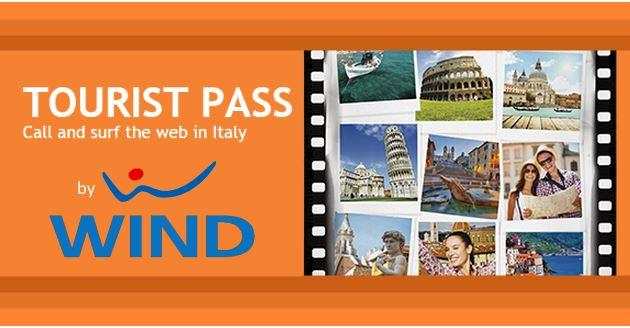 Wind presents Tourist Pass, three offers for tourists in Italy