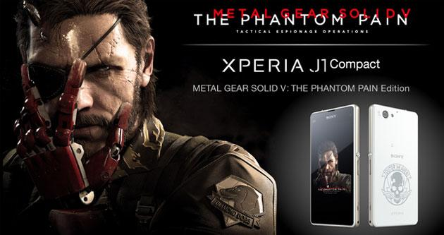 Sony Xperia J1 Compact in edizione limitata Metal Gear Solid V: The Phantom Pain