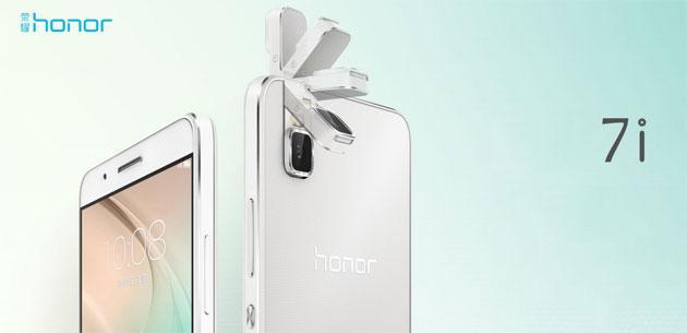Huawei annuncia Honor 7i con fotocamera rotante da 13 MPx