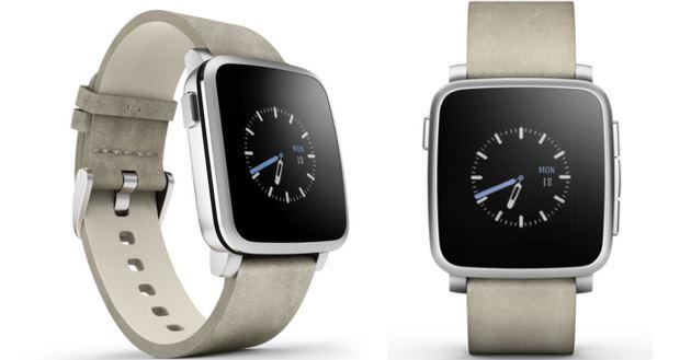 Pebble Time Steel in acciaio disponibile da 300 euro