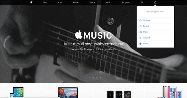 Apple Store Online chiude, si integra col sito Apple