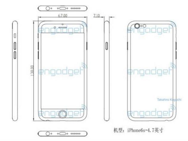 Apple iPhone 6S: nuovi dettagli sul design