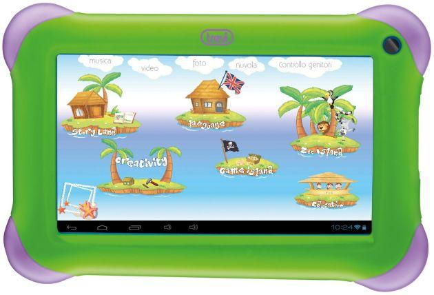 KidTab 7, nuovo tablet Pc per bambini con Android OS