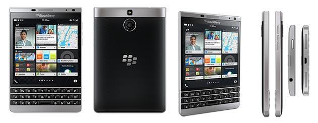 Blackberry Passport Silver Edition con display quadrato e ...