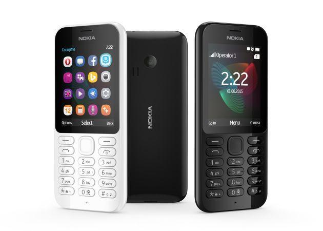 Microsoft annuncia i low cost Nokia 222 e Nokia 222 Dual Sim da 37 dollari